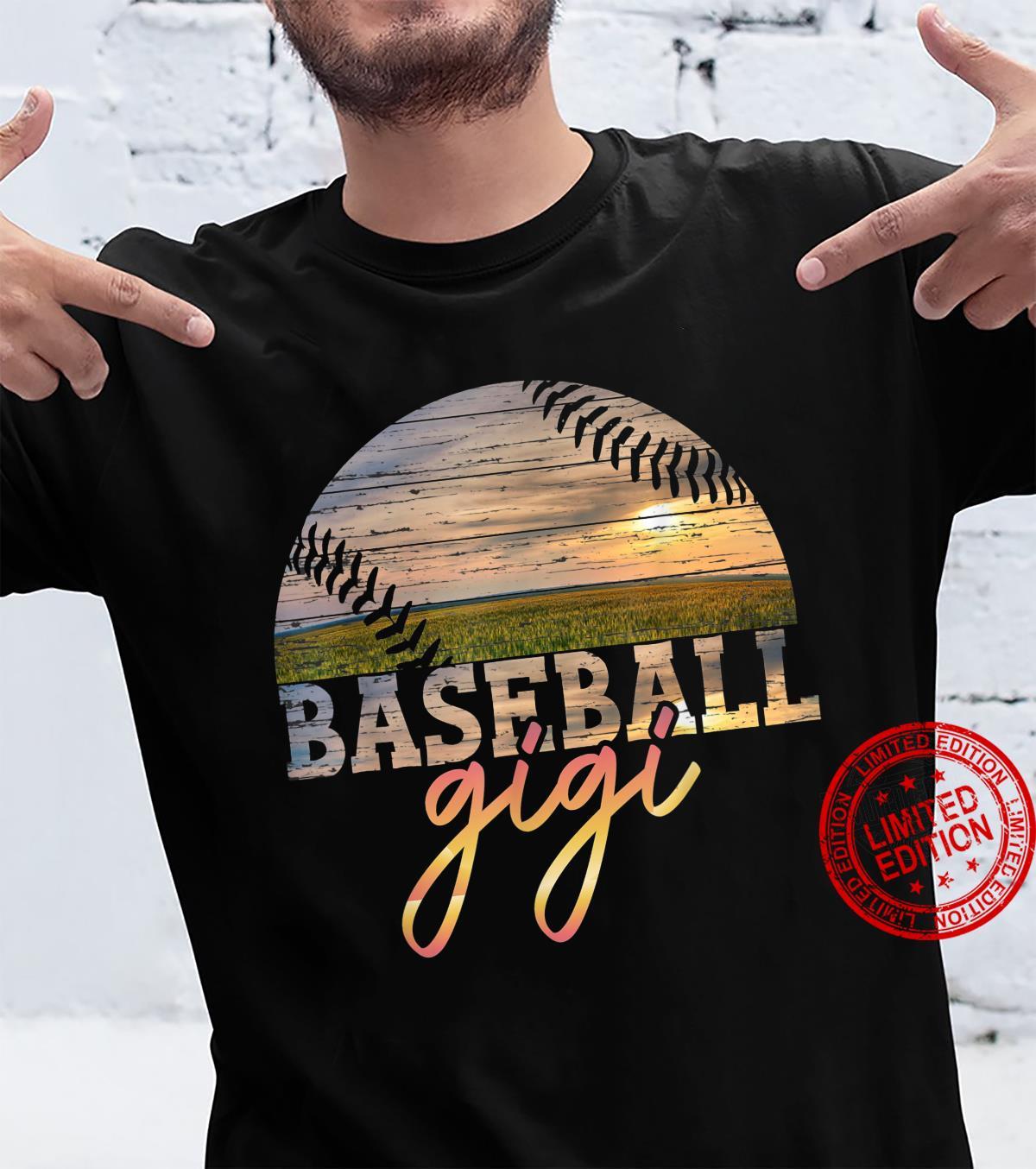Baseball gigi Vintage Baseball Shirt