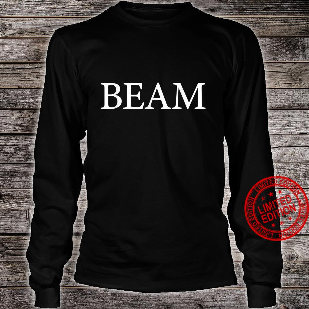 Beam Name Family Vintage Retro Shirt long sleeved