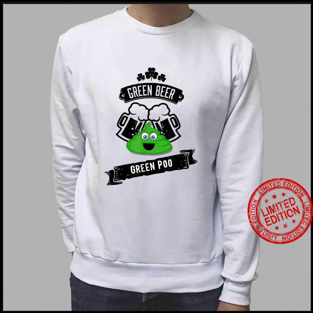 Green Beer Poop Gag Shirt sweater