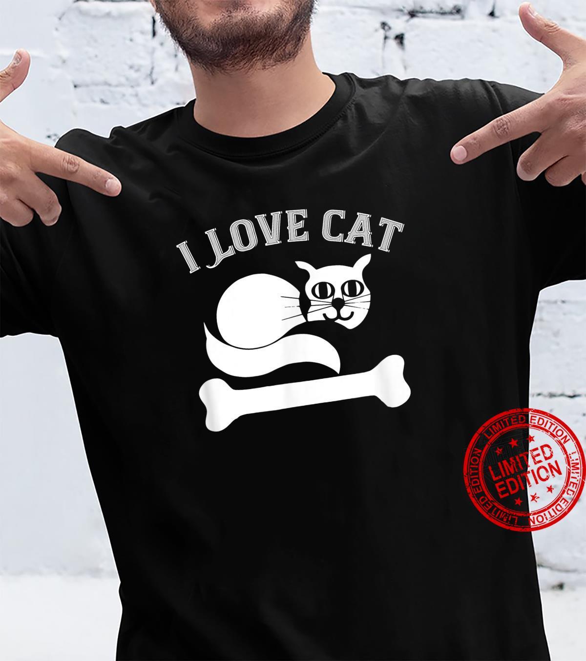 I Love My Cat Cat Shirt