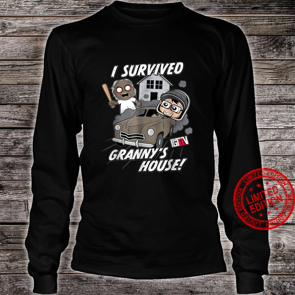 Merry Christmas Gaming Family Game Styles Shirt long sleeved