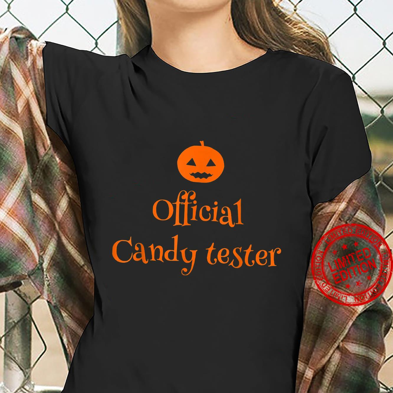 Official Candy Tester Shirt ladies tee