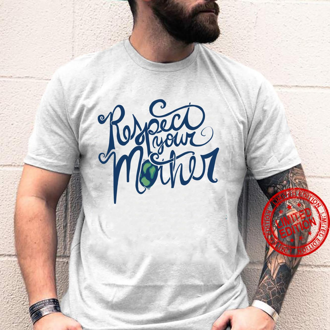 Respect your mother Earth Day retro Shirt