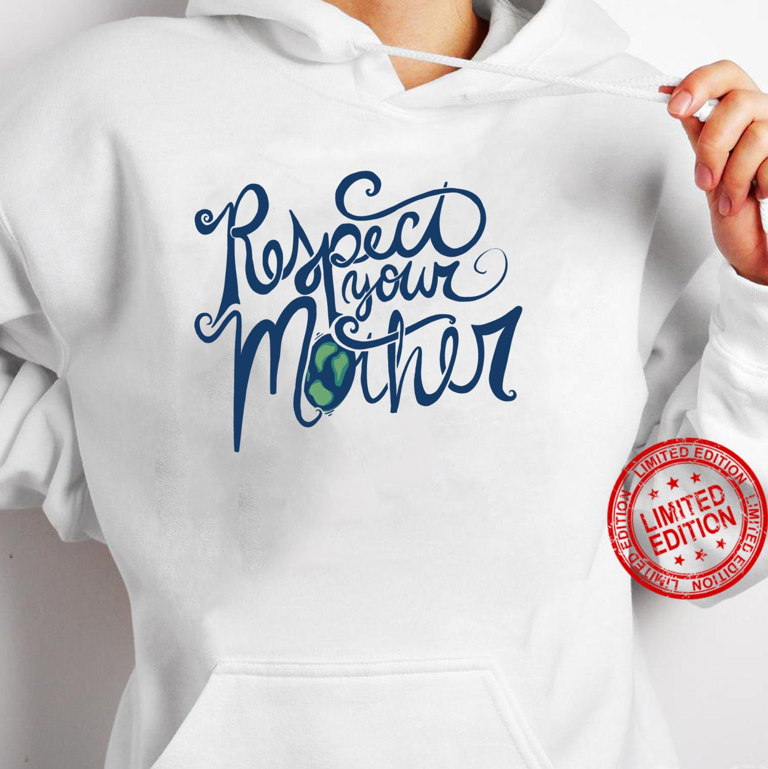 Respect your mother Earth Day retro Shirt hoodie