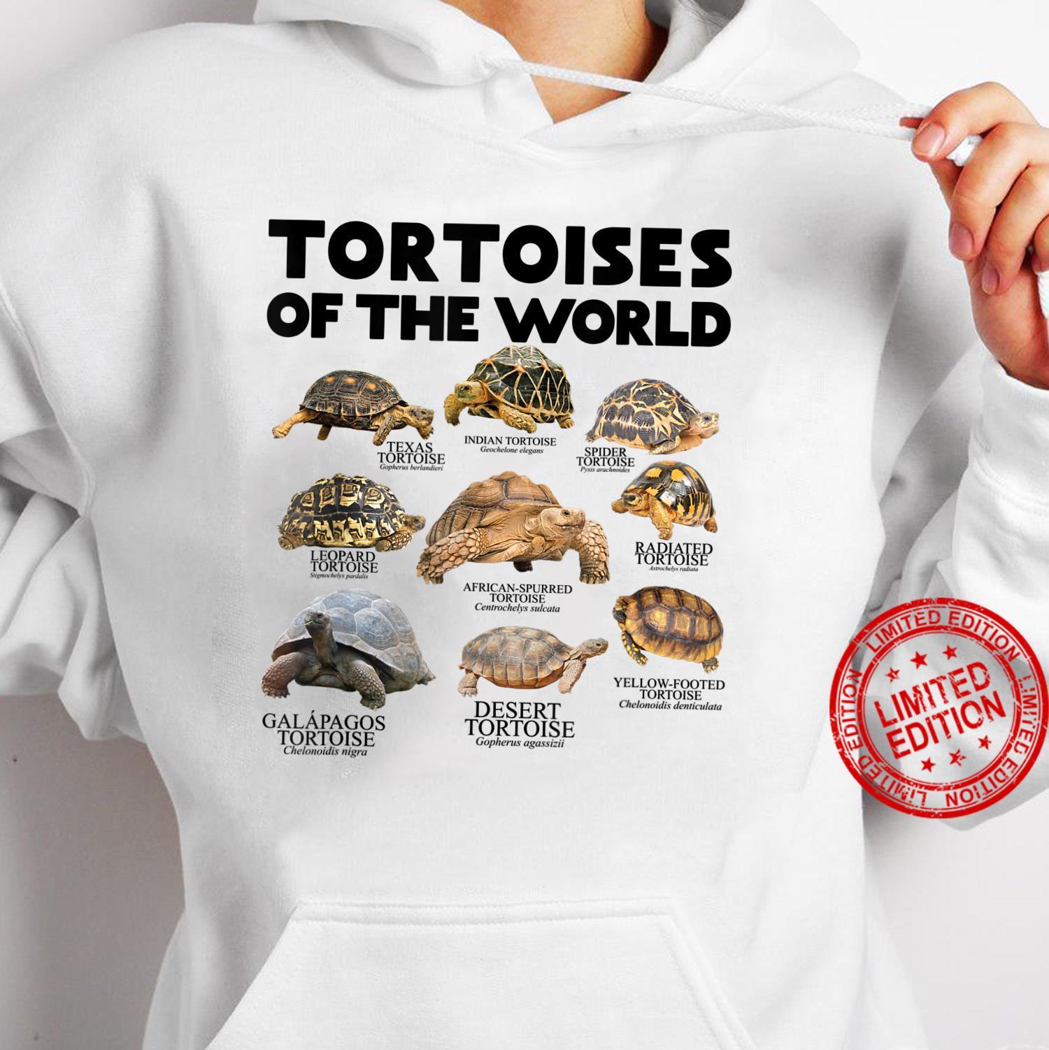 Schildkröten Der Welt Schildkröten Save The Landschildkröten Shirt hoodie