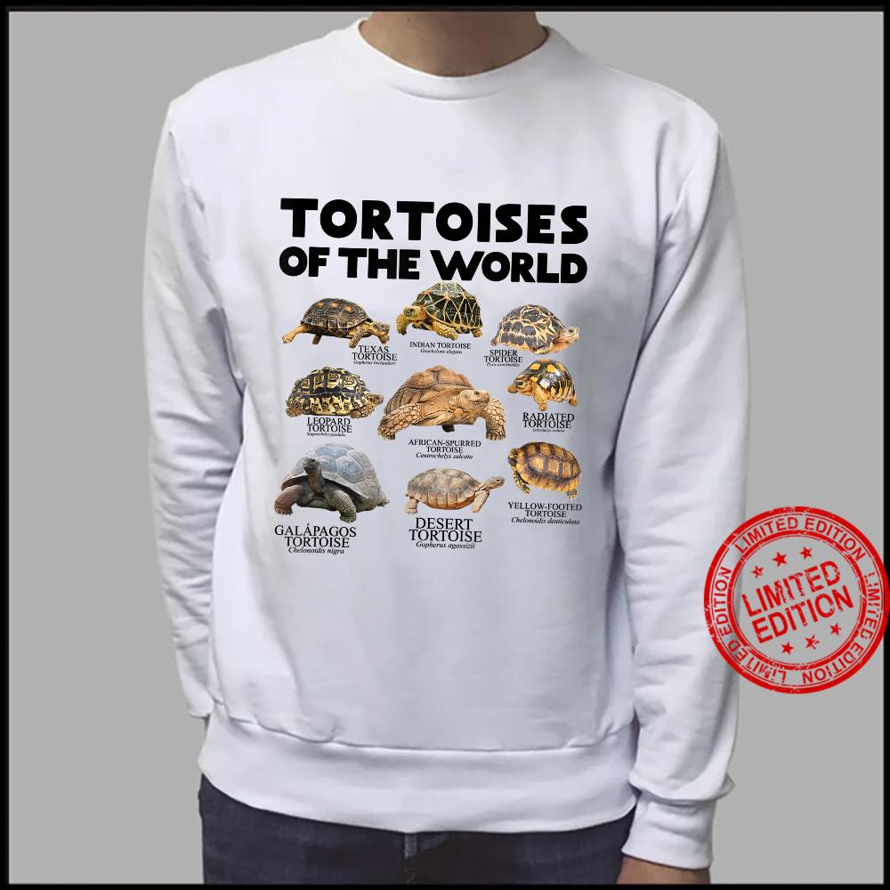 Schildkröten Der Welt Schildkröten Save The Landschildkröten Shirt sweater