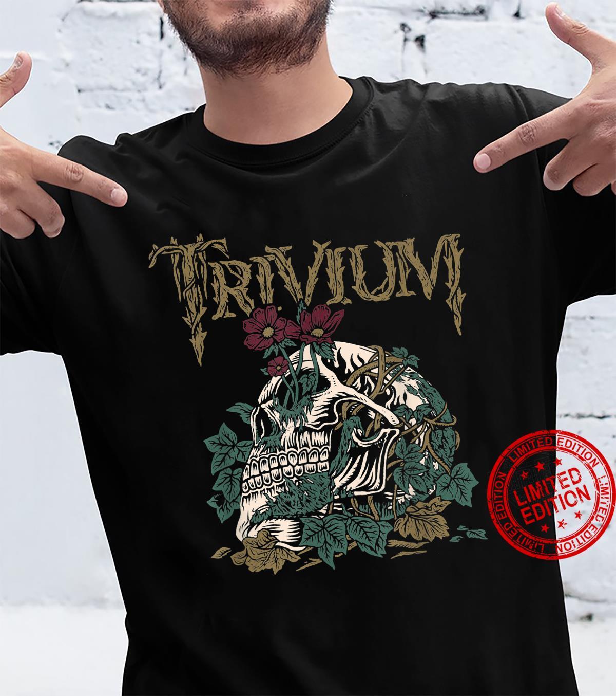 Trivium Skelly Flower Shirt