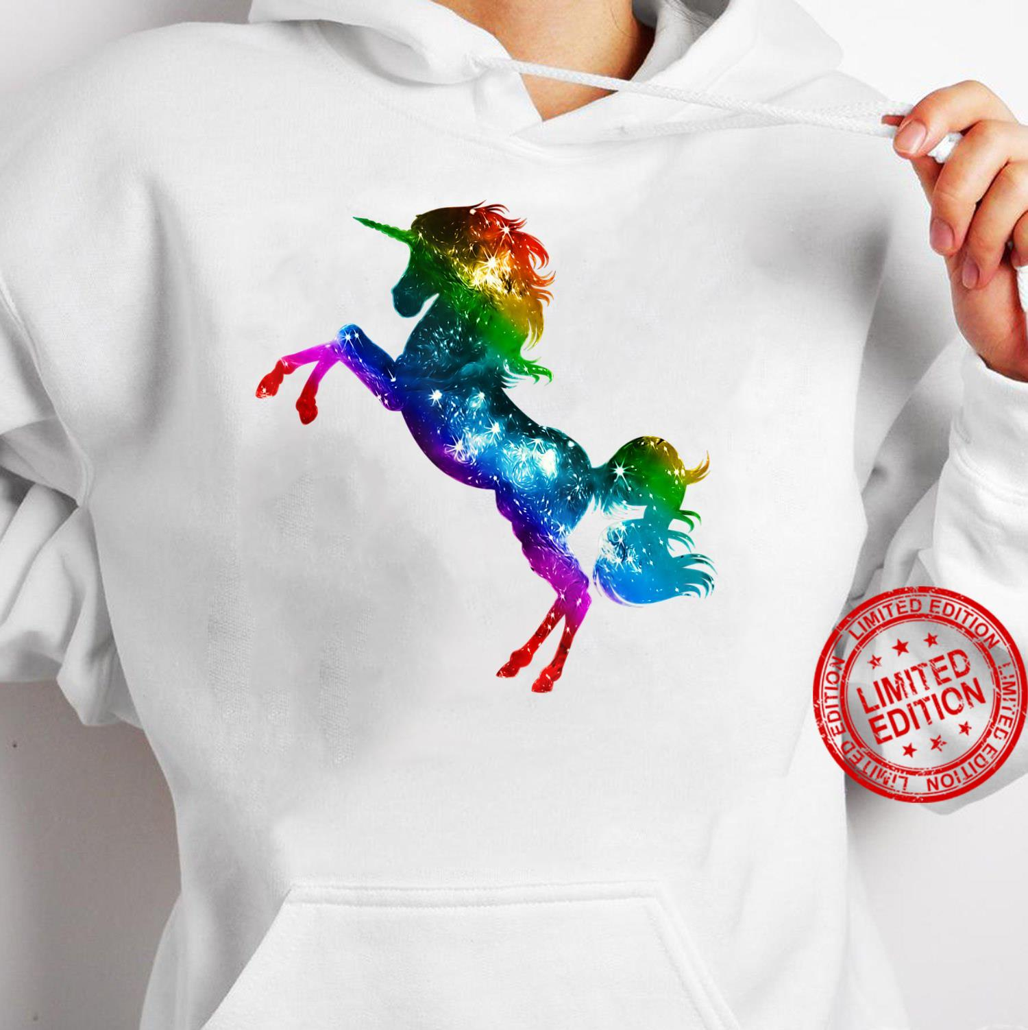 Unicorn, Vintage, Rainbow, Gay Pride, Flag, LGBTQ, Galaxy Shirt hoodie