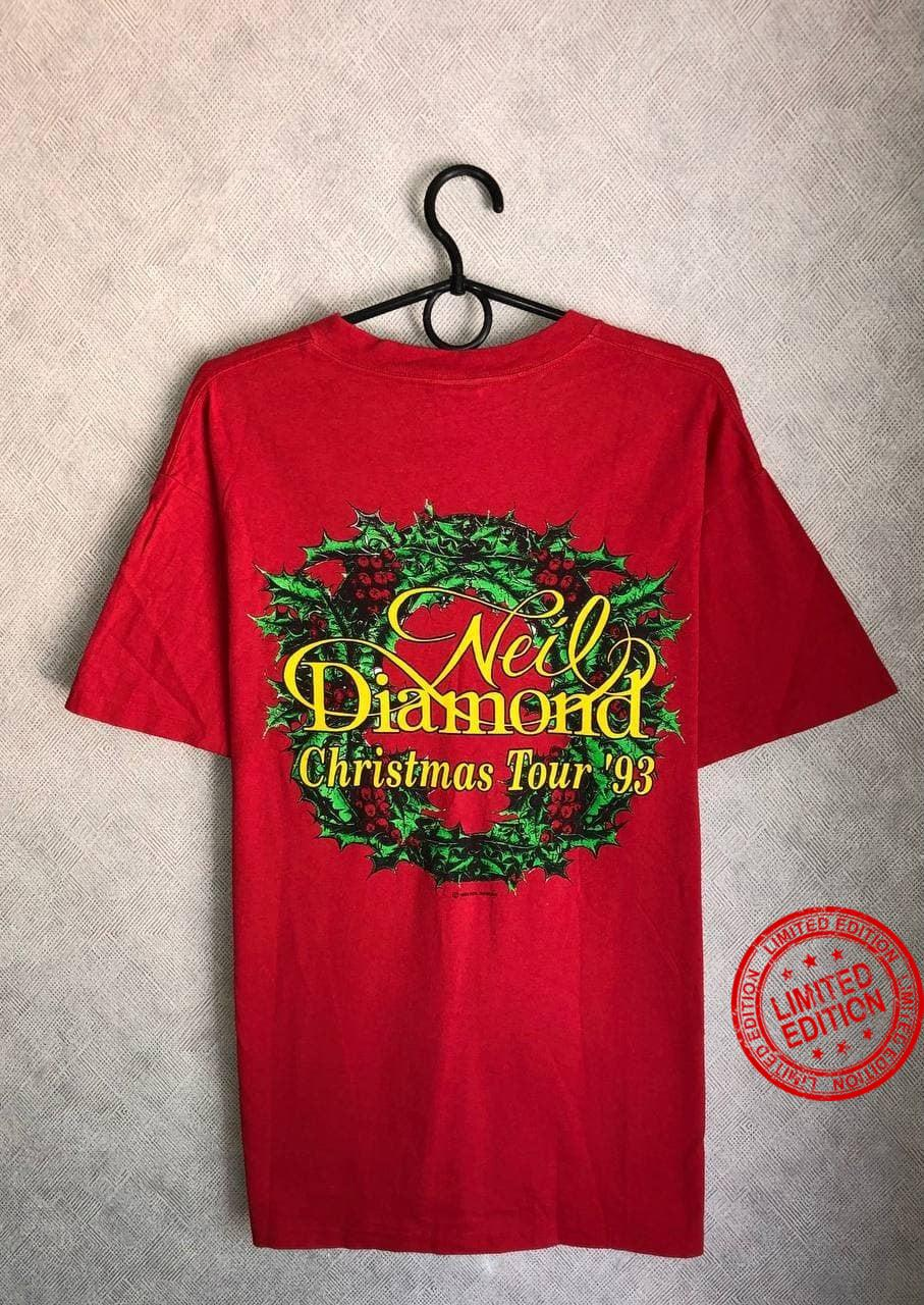 Vintage 1993 Neil Diamond Christmas tour Shirt