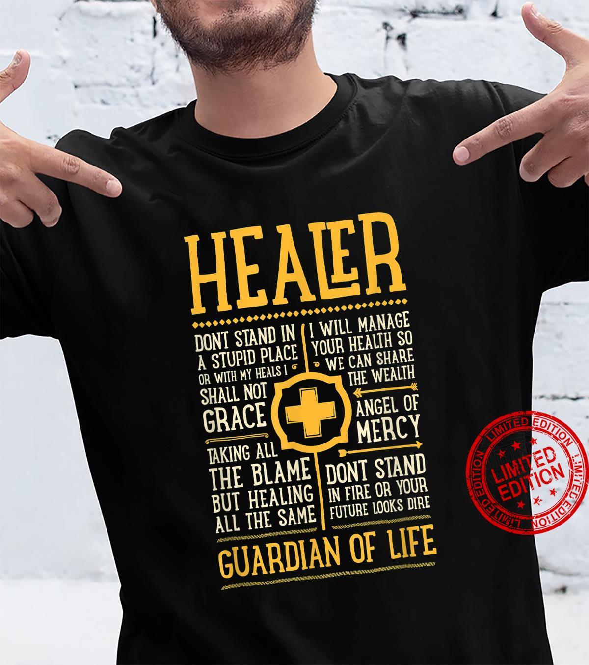 WoW Healer Role Gaming Heals Shirt