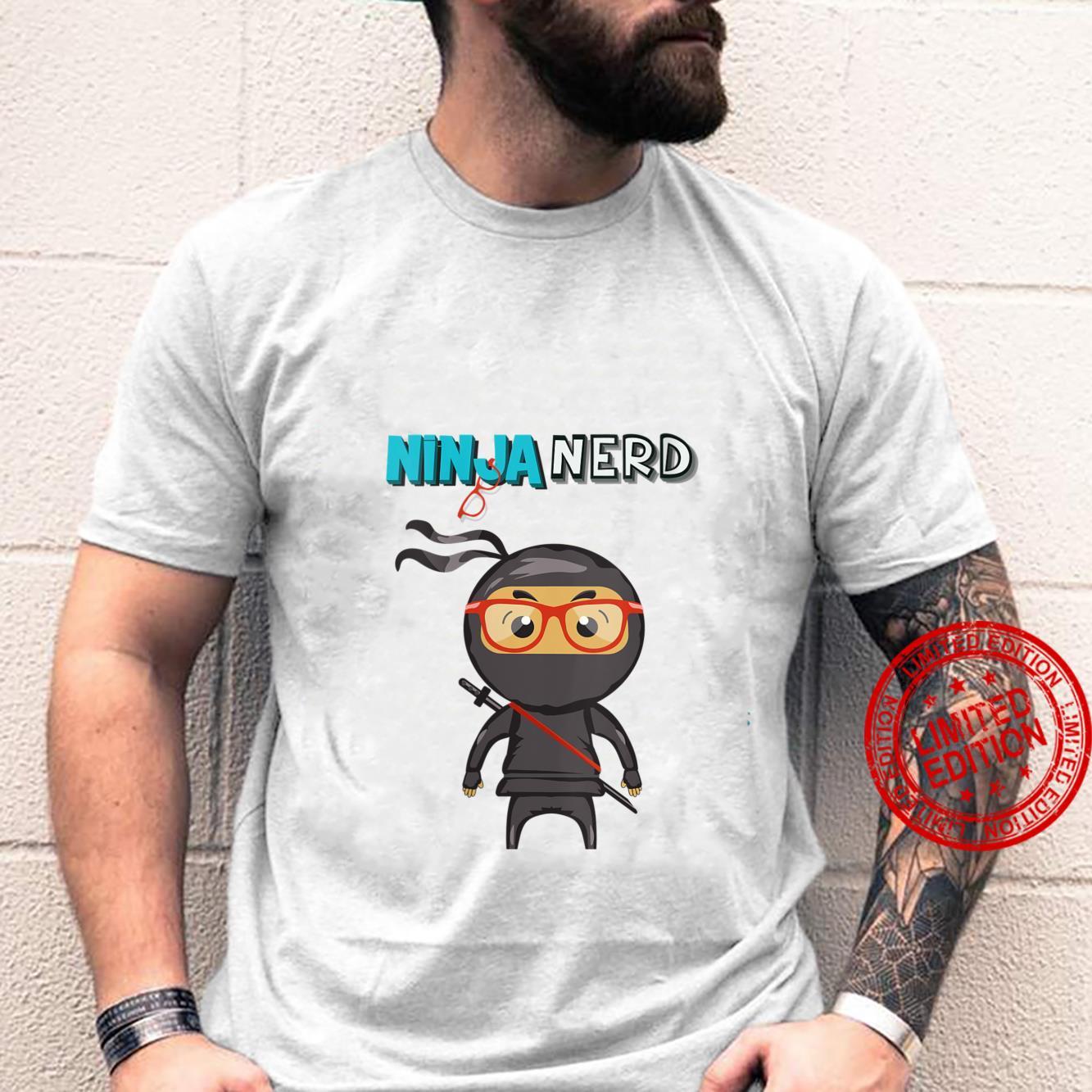 Womens Ninja Nerd Shirt