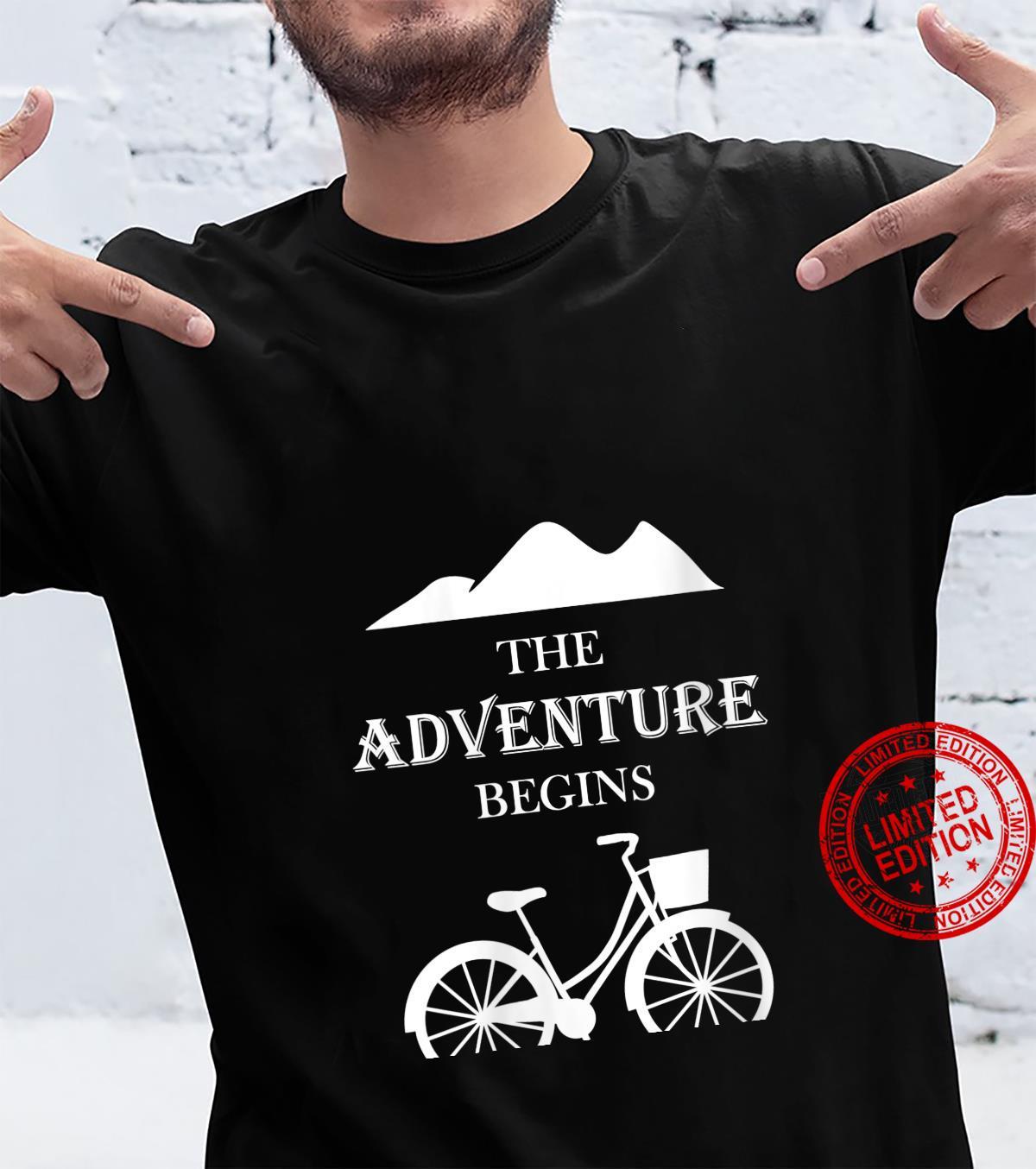 Womens The Adventure Begins Explorer Shirt