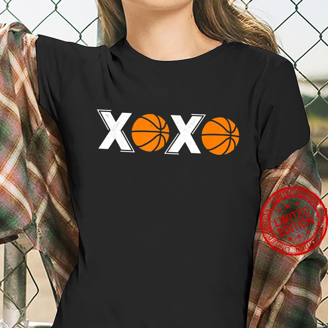 XOXO Basketball Shirt ladies tee