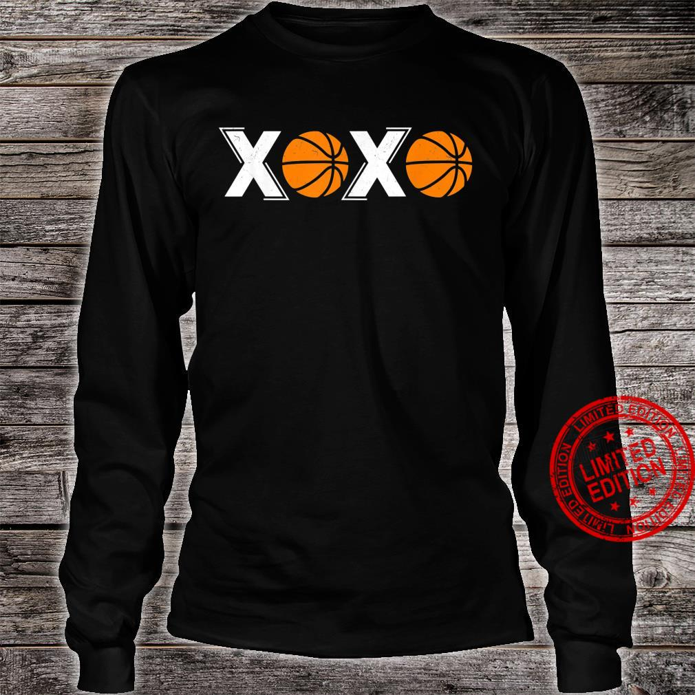 XOXO Basketball Shirt long sleeved