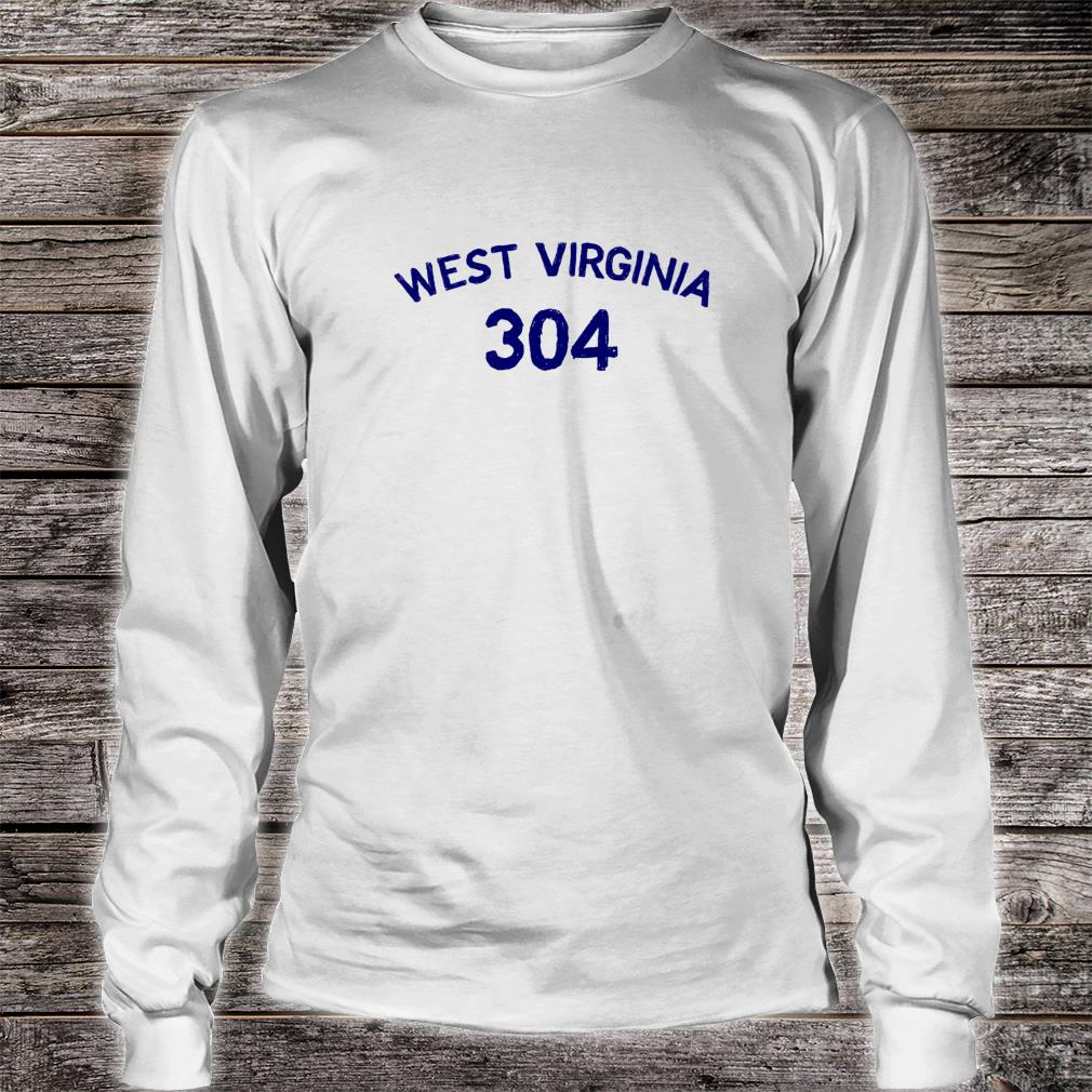 304 West Virginia Shirt Long sleeved