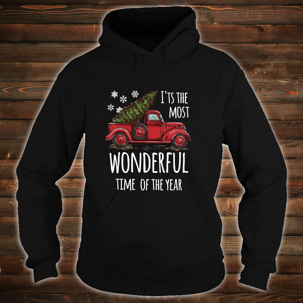 Cute Christmas Truck Design for people who love Christmas Shirt hoodie