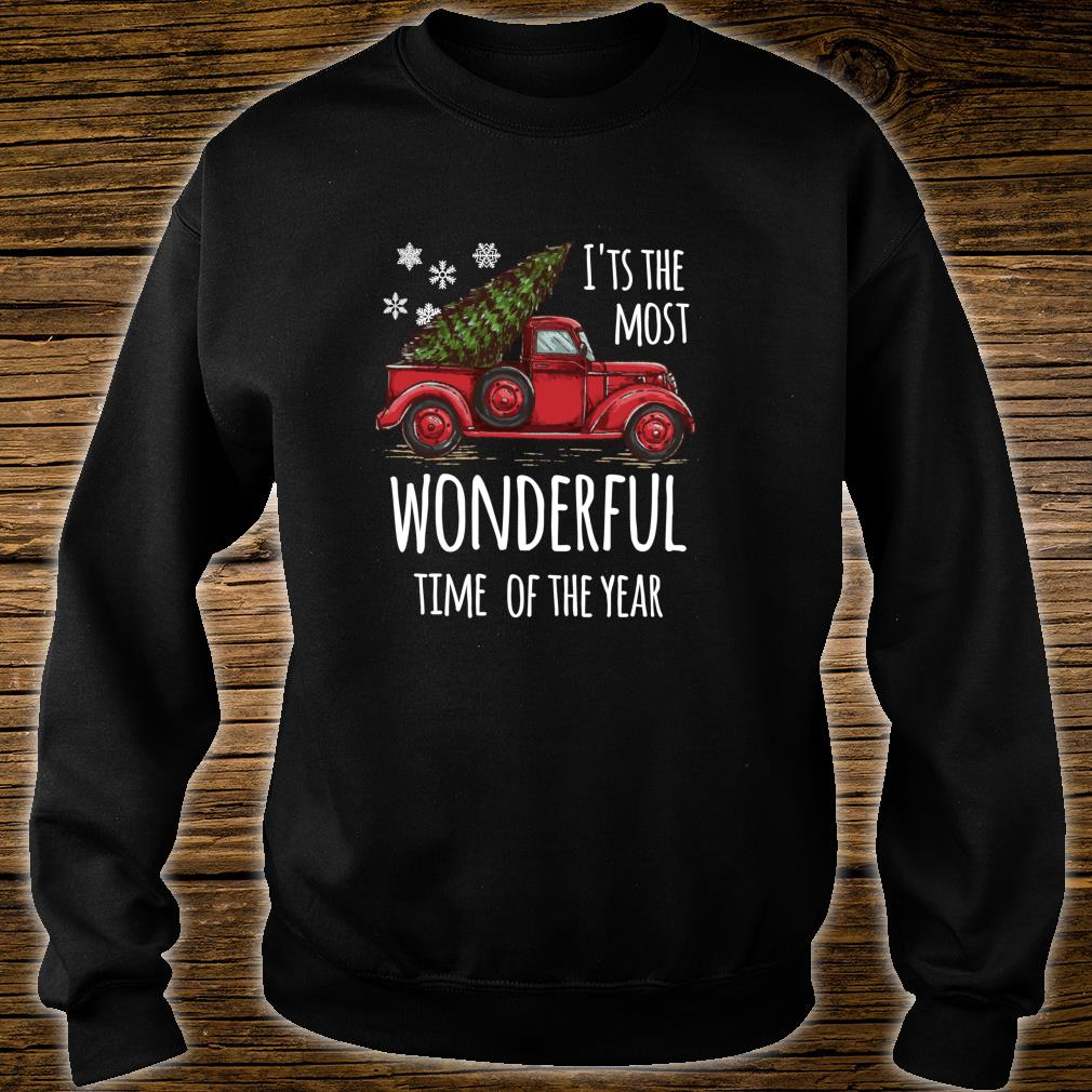 Cute Christmas Truck Design for people who love Christmas Shirt sweater