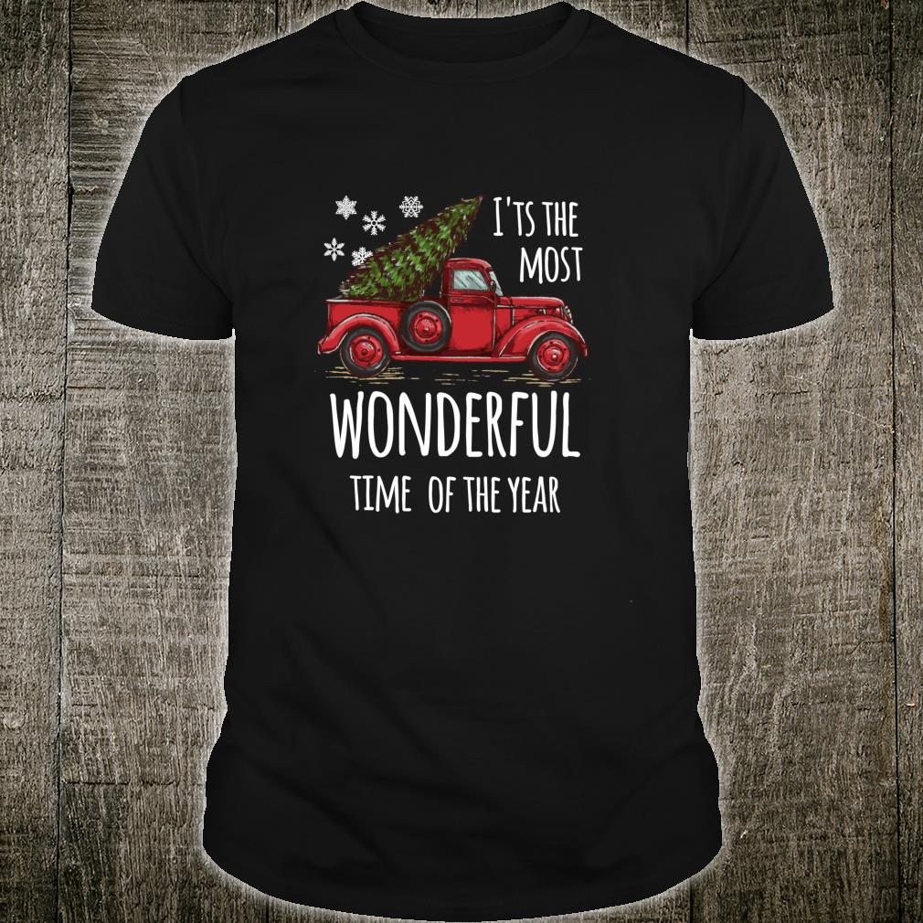 Cute Christmas Truck Design for people who love Christmas Shirt