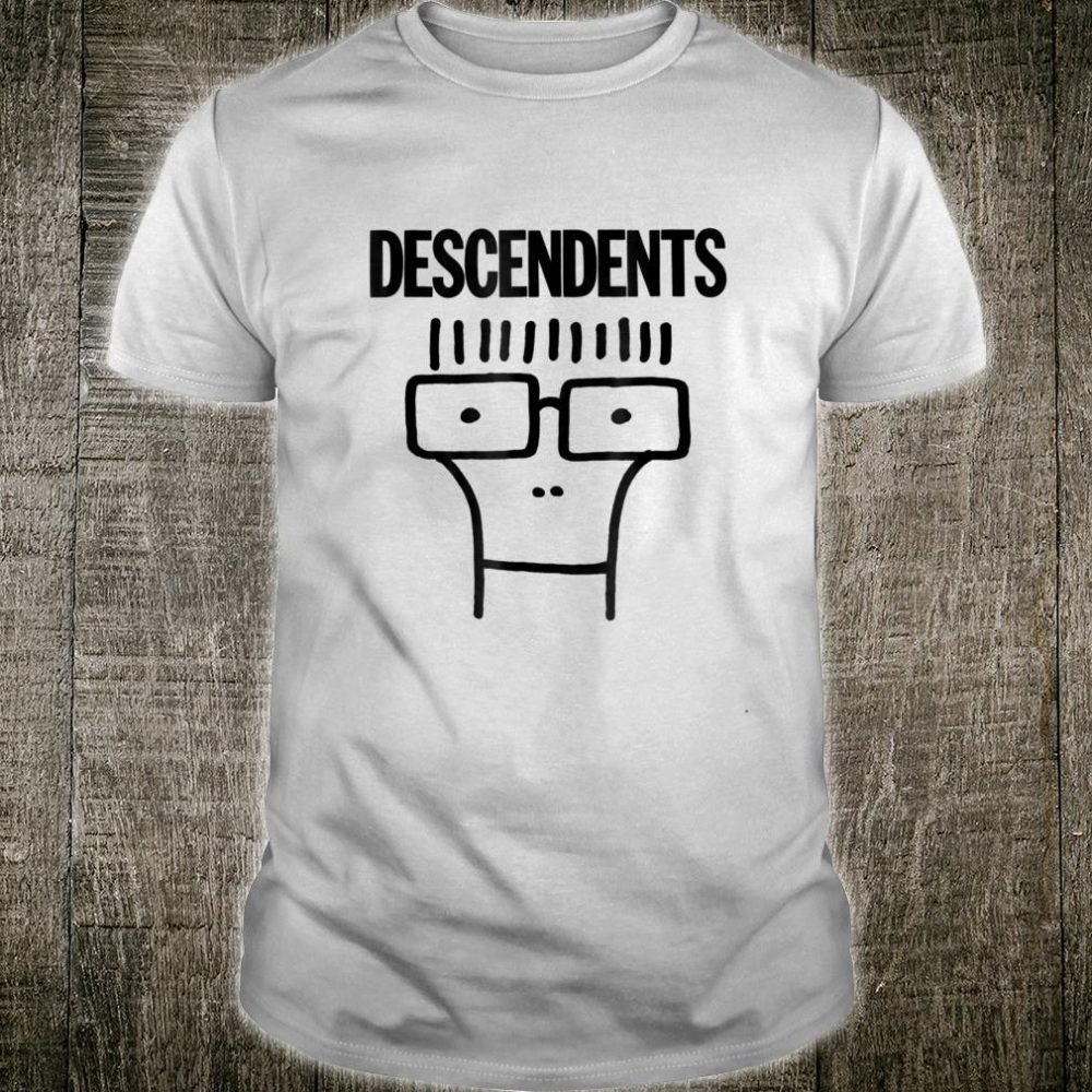 Descendents Milo Shirt Black Outline Official Merch Shirt