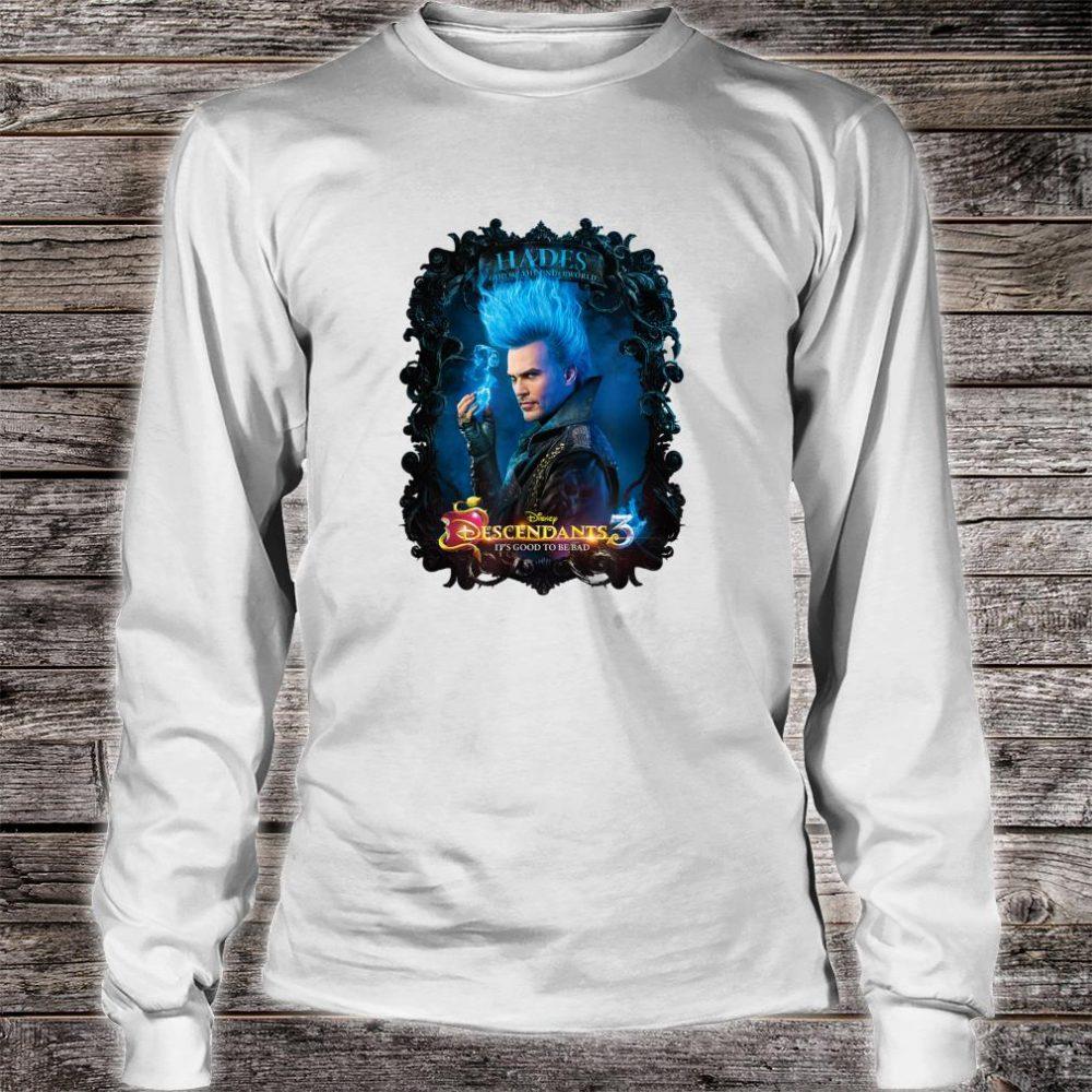 Disney Channel Descendants 3 Hades Shirt long sleeved