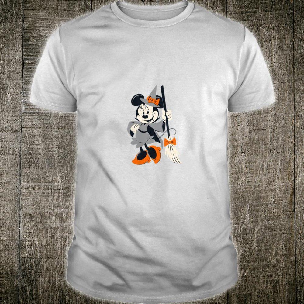 Disney Halloween Minnie Happy Witch Shirt