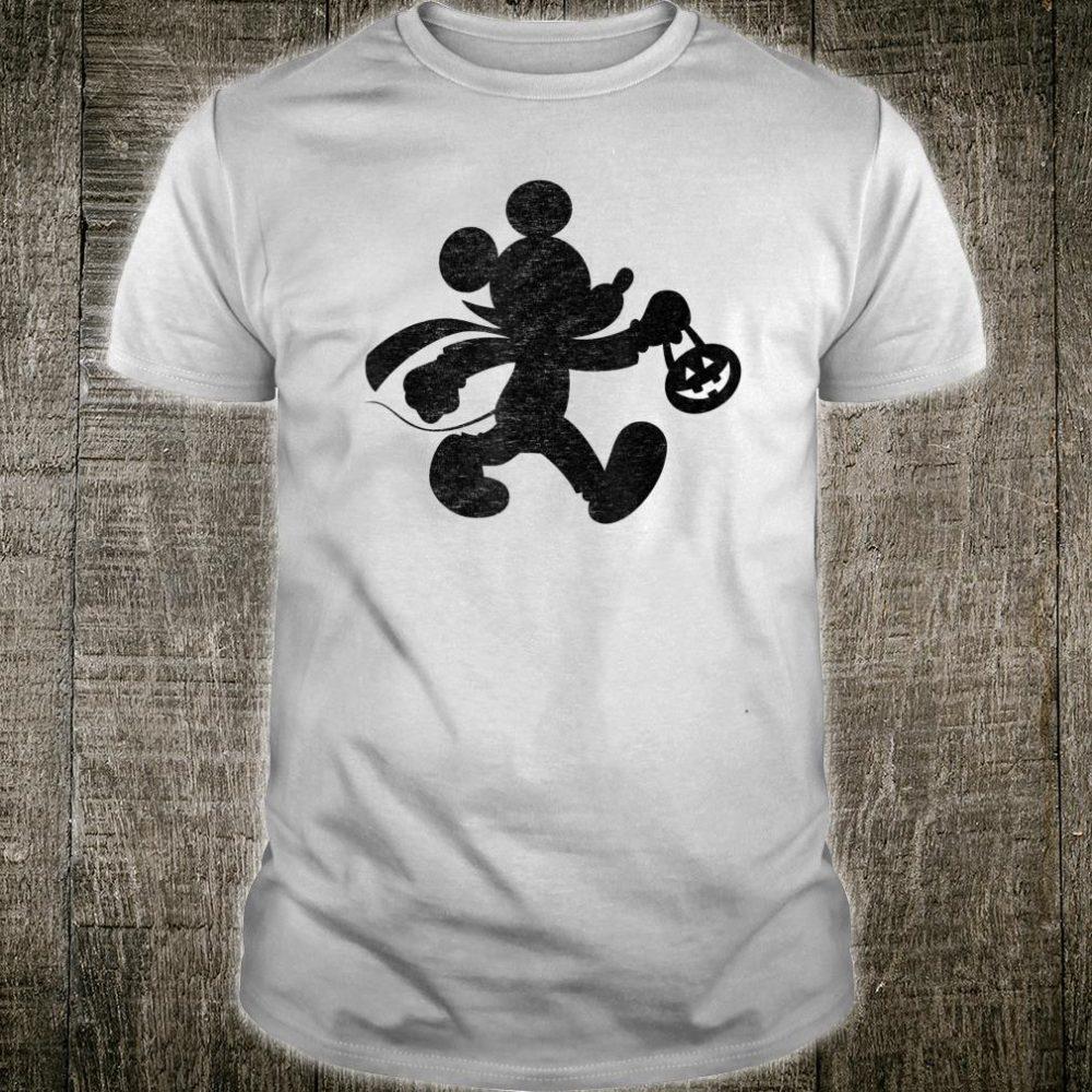 Disney Mickey Mouse Halloween Trick or Treat Shirt
