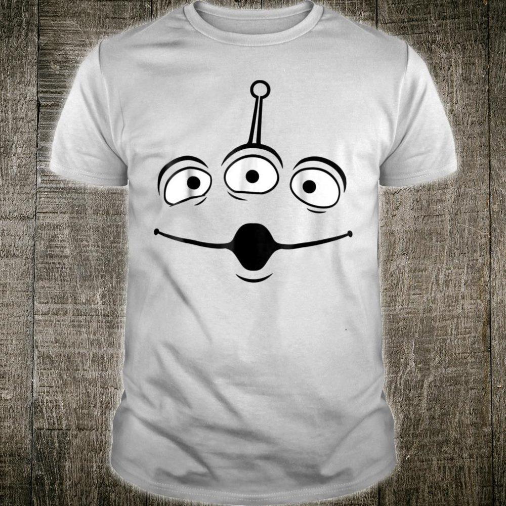 Disney Pixar Toy Story Alien Face Halloween Shirt