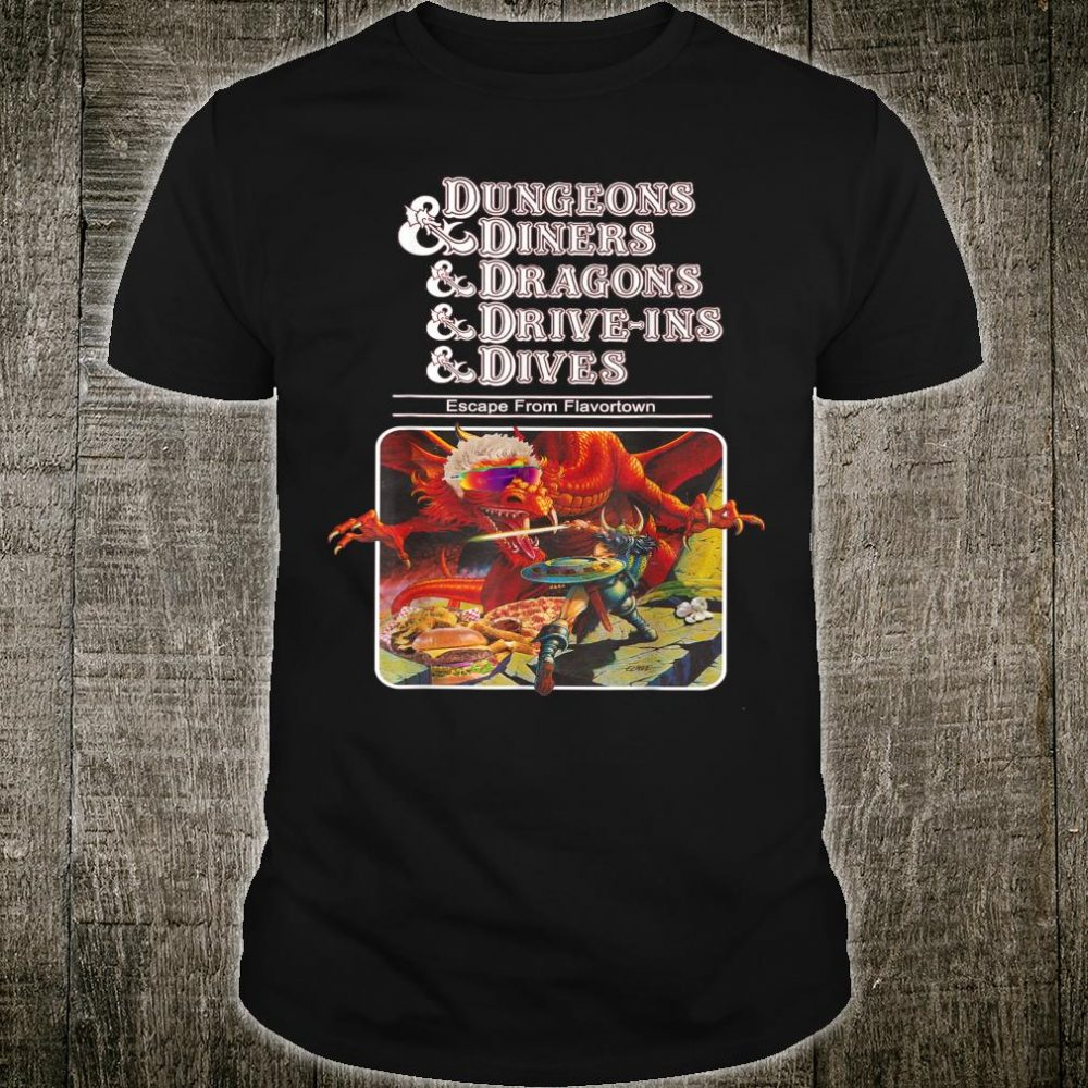 Dungeons & Diners & Dragon & Driverins Dives Shirt