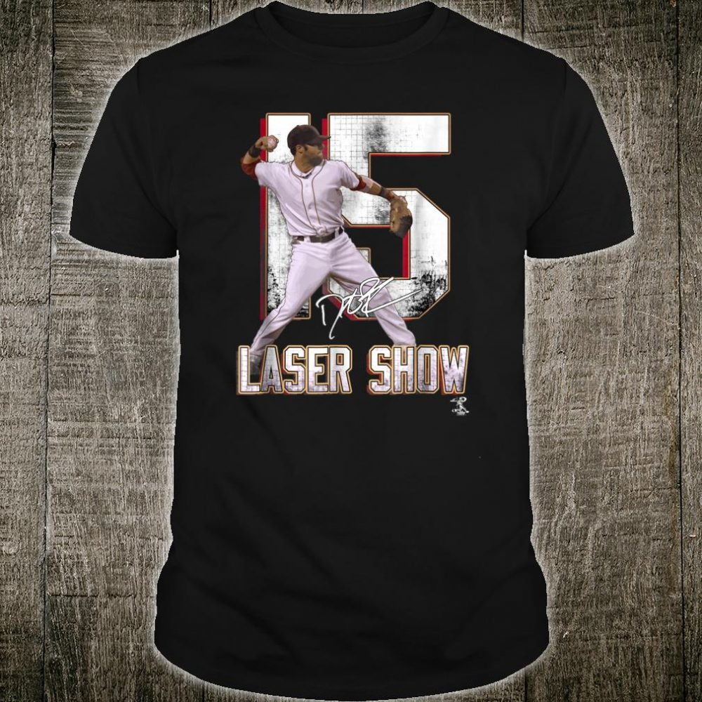 Dustin Pedroia Laser Show Shirt Apparel Shirt