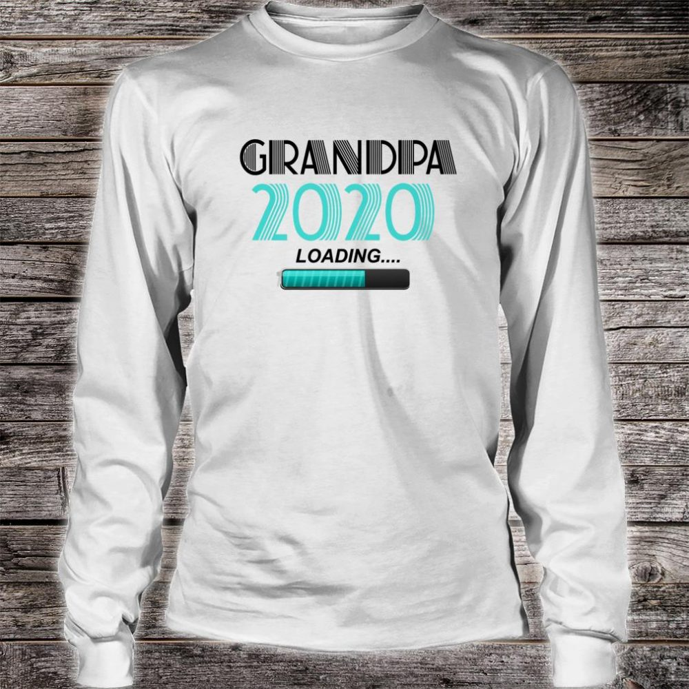 Grandpa 2020 Loading Vintage New Grandfather New Grandson Shirt long sleeved