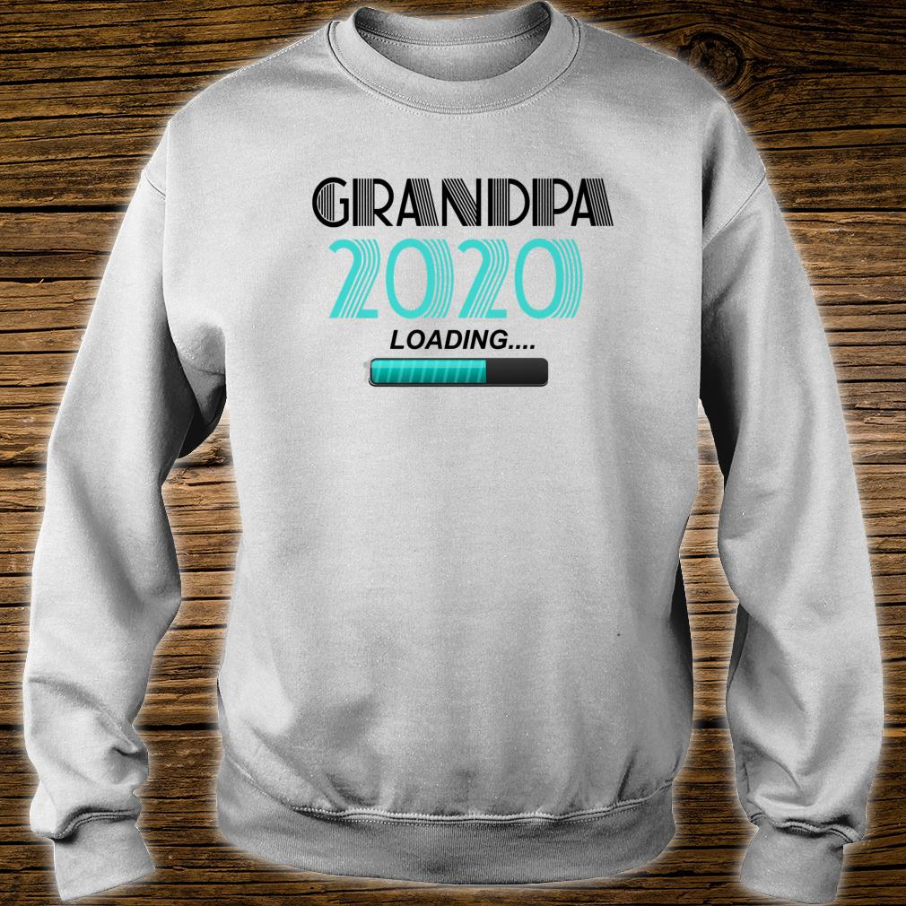 Grandpa 2020 Loading Vintage New Grandfather New Grandson Shirt sweater