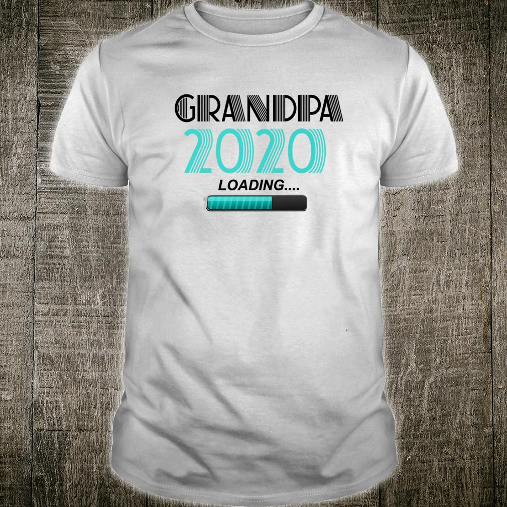 Grandpa 2020 Loading Vintage New Grandfather New Grandson Shirt