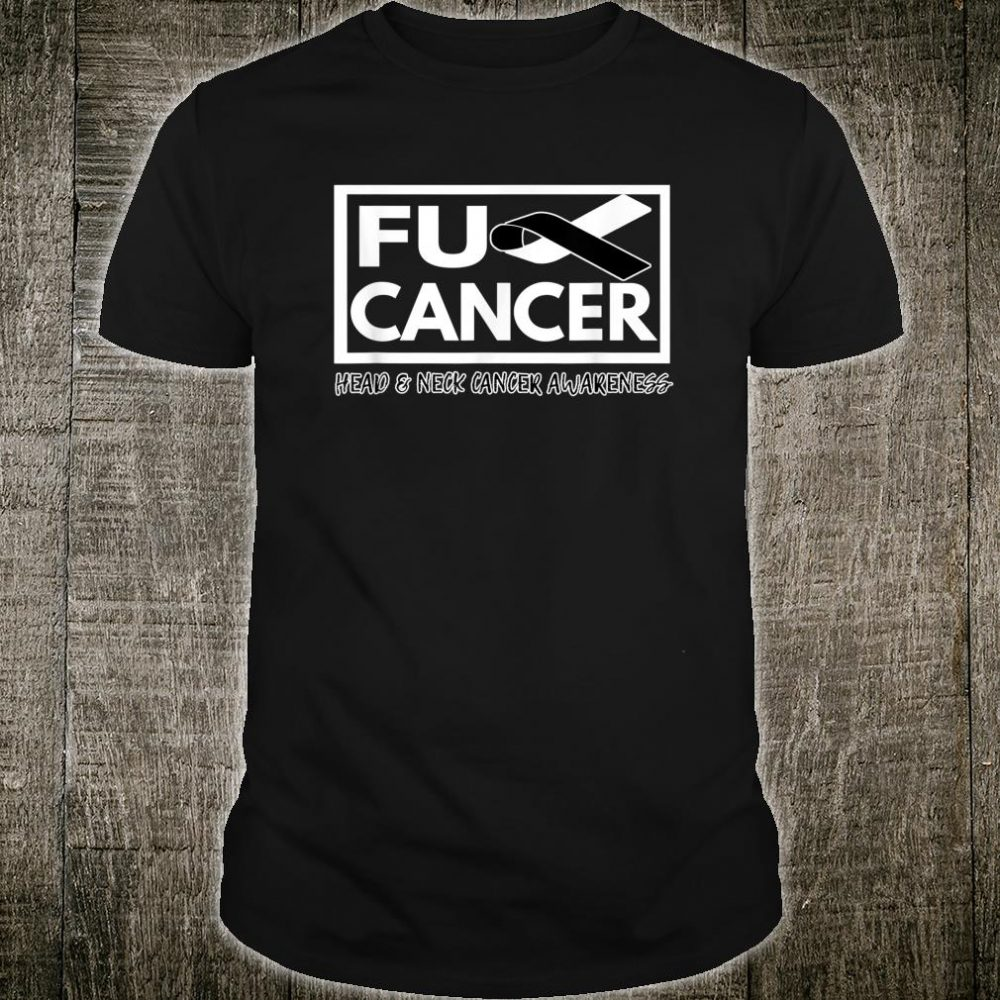 Head and Neck Cancer Awareness Fight Cancer Ribbon Shirt