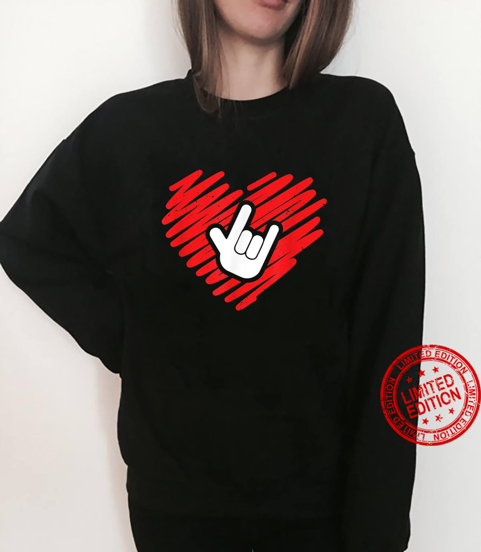 I love you sign language deaf and deafmute Shirt sweater