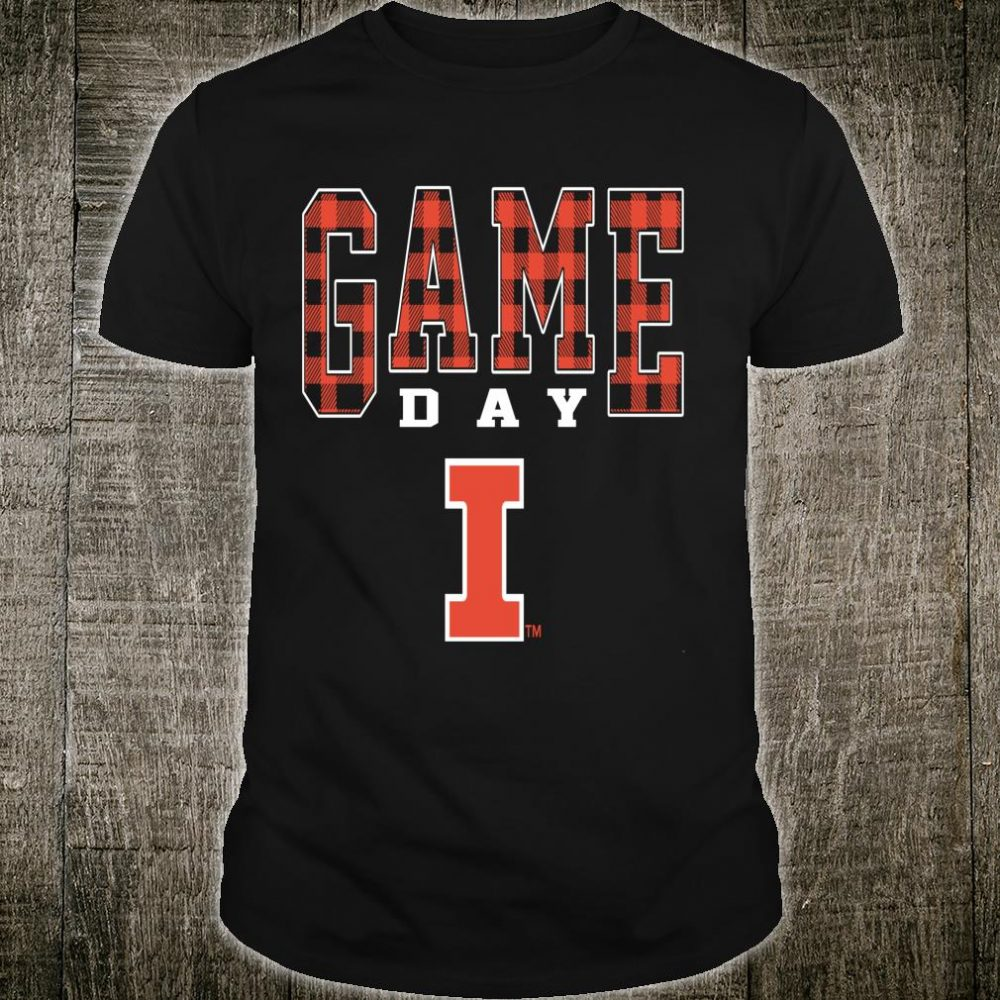 Illinois Fighting Illini Game Day Checked Pattern Team Shirt