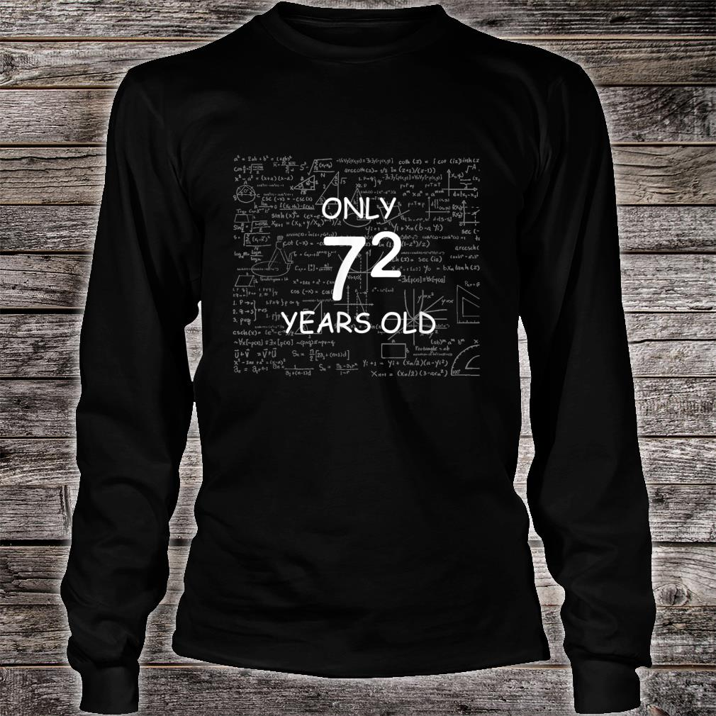 Math Only 49 Years Old Birthday Shirt long sleeved