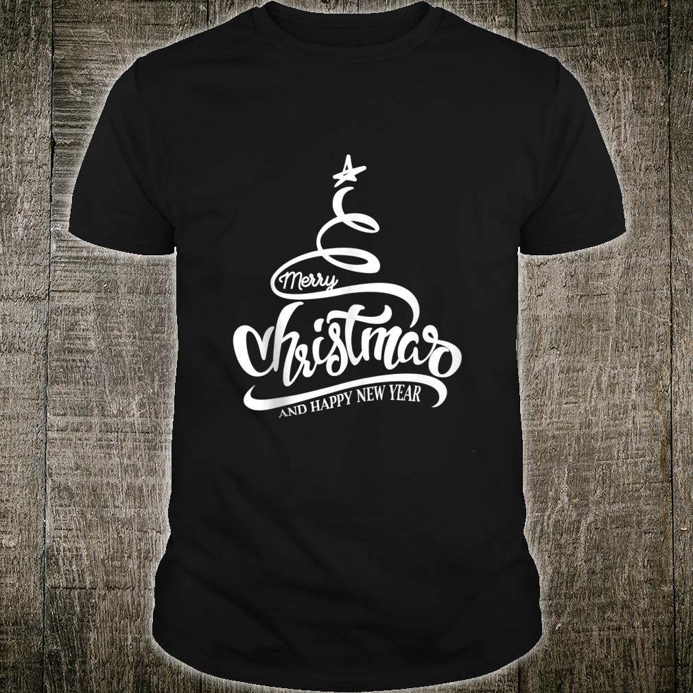 Merry Christmas And Happy New Year Shirt