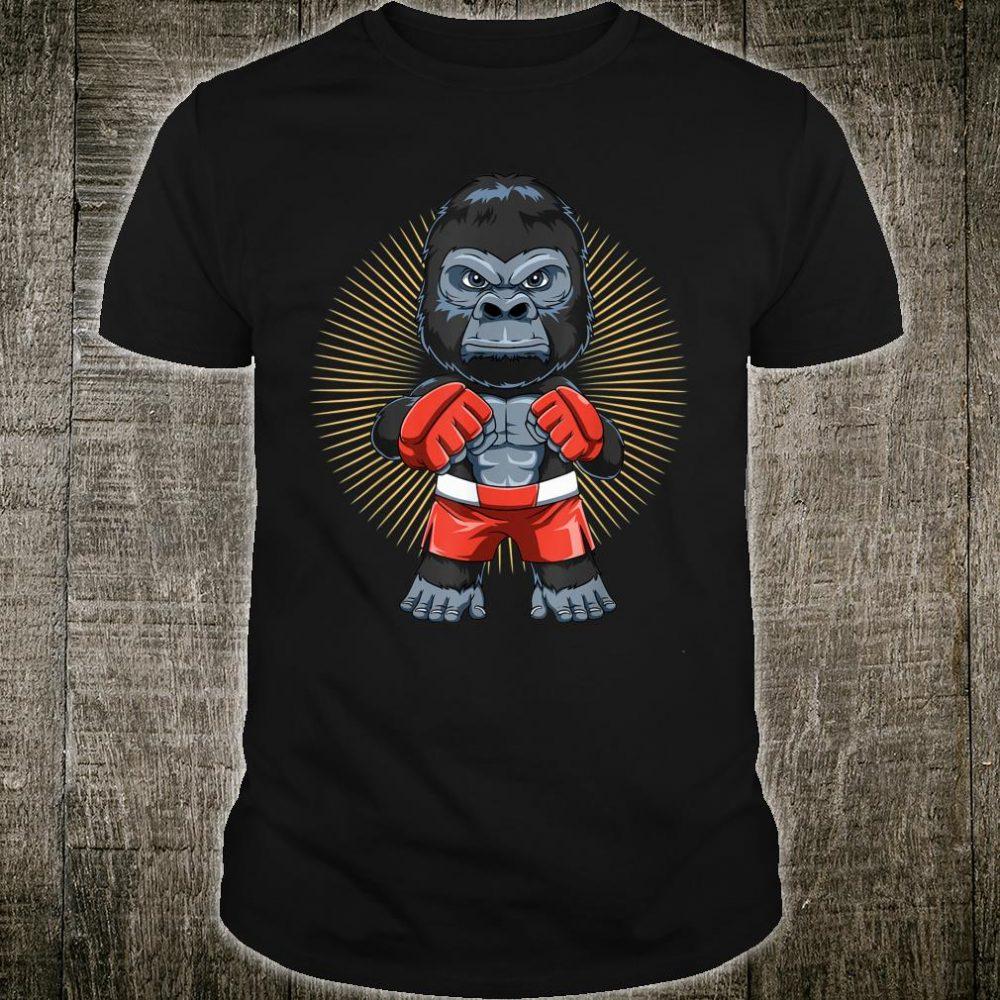 Mixed Martial Arts Gorilla MMA Shirt