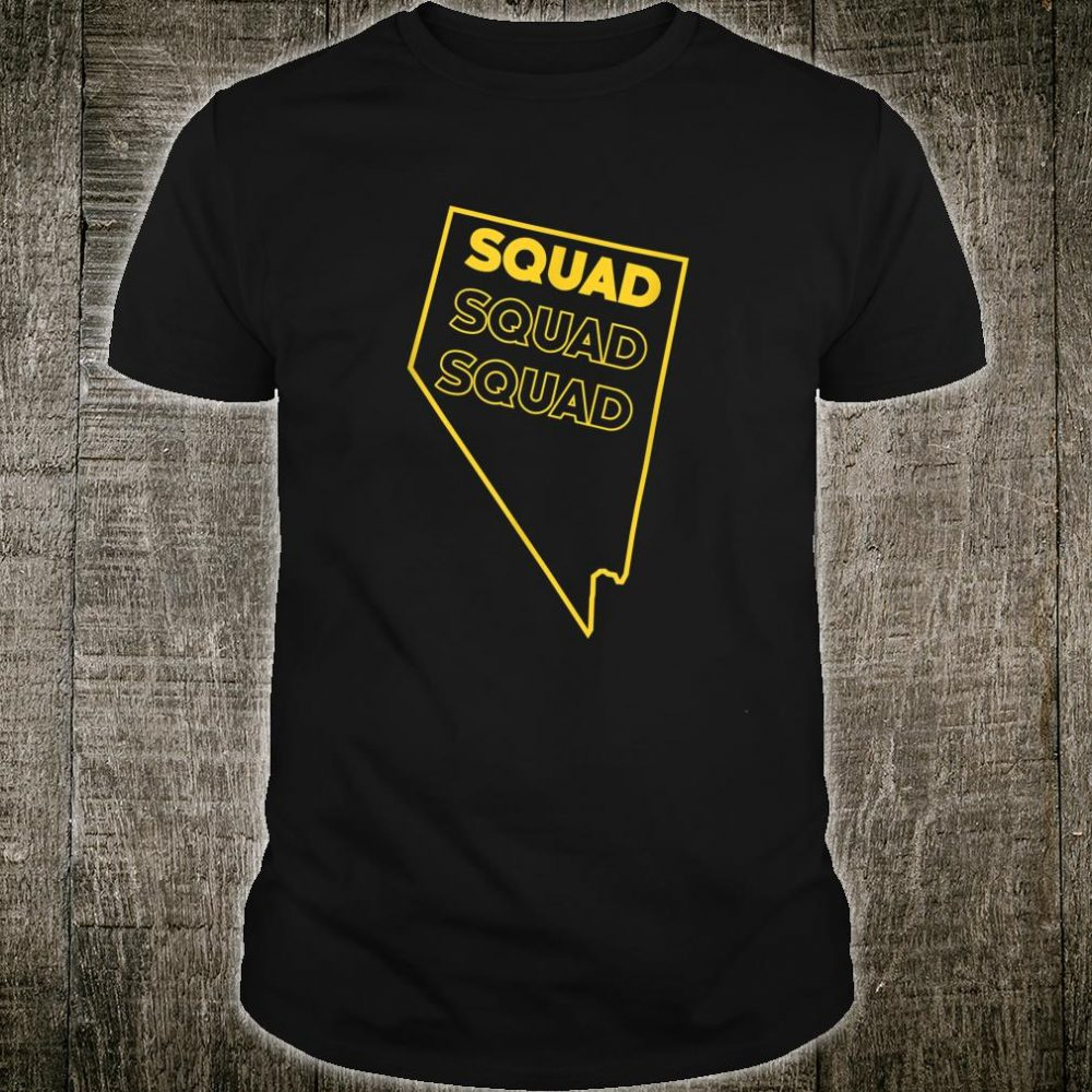 Nevada Squad Bachelorette Besties State Squad Party Shirt