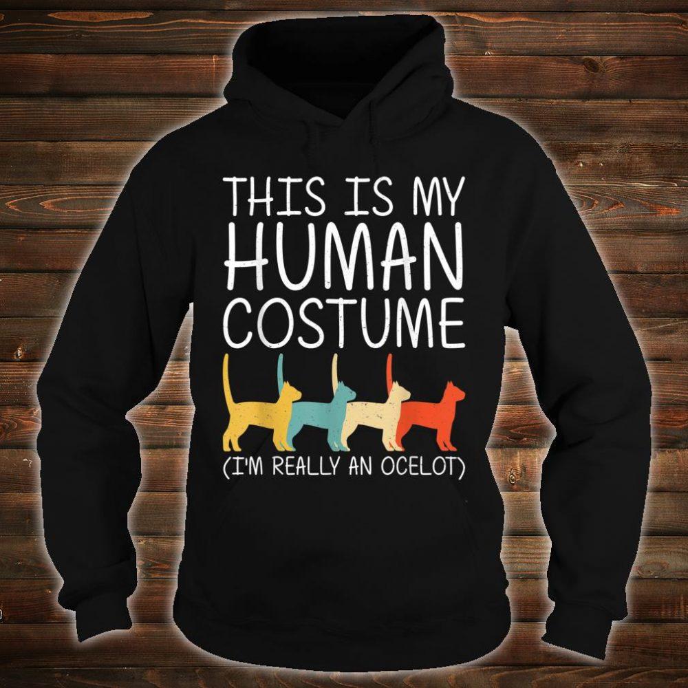 Ocelot Halloween Human Costume Wildcat Animal Easy DIY Shirt hoodie