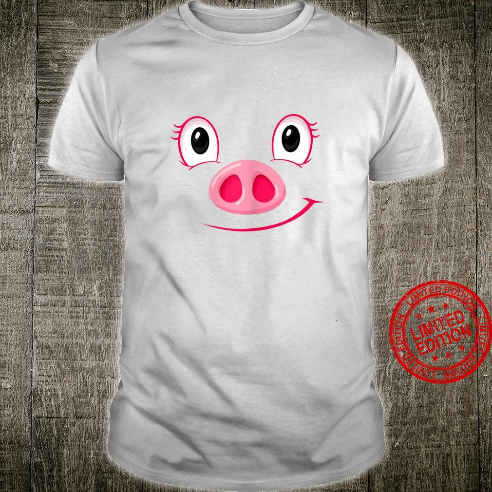 Pig Halloween Quick Easy Costume For Girls Shirt