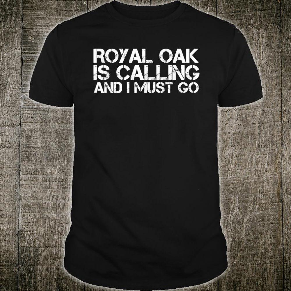 ROYAL OAK MI MICHIGAN City Trip Home Roots USA Shirt