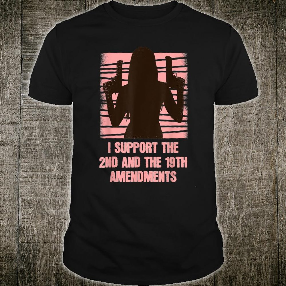 Right To Bear Arms And's Right To Vote Amendments Shirt