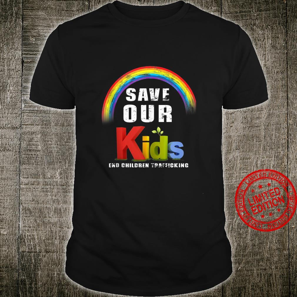 Save Our Children End of Human Trafficking Save our Shirt