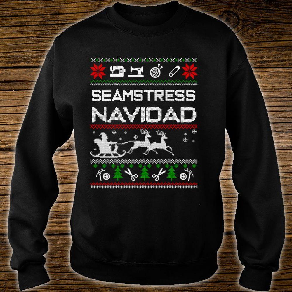 Seamstress Navidad Job Ugly Christmas Shirt sweater
