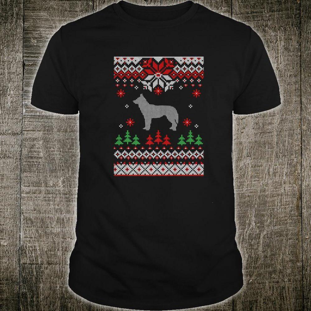 Siberian Husky Dog Ugly Christmas Shirt