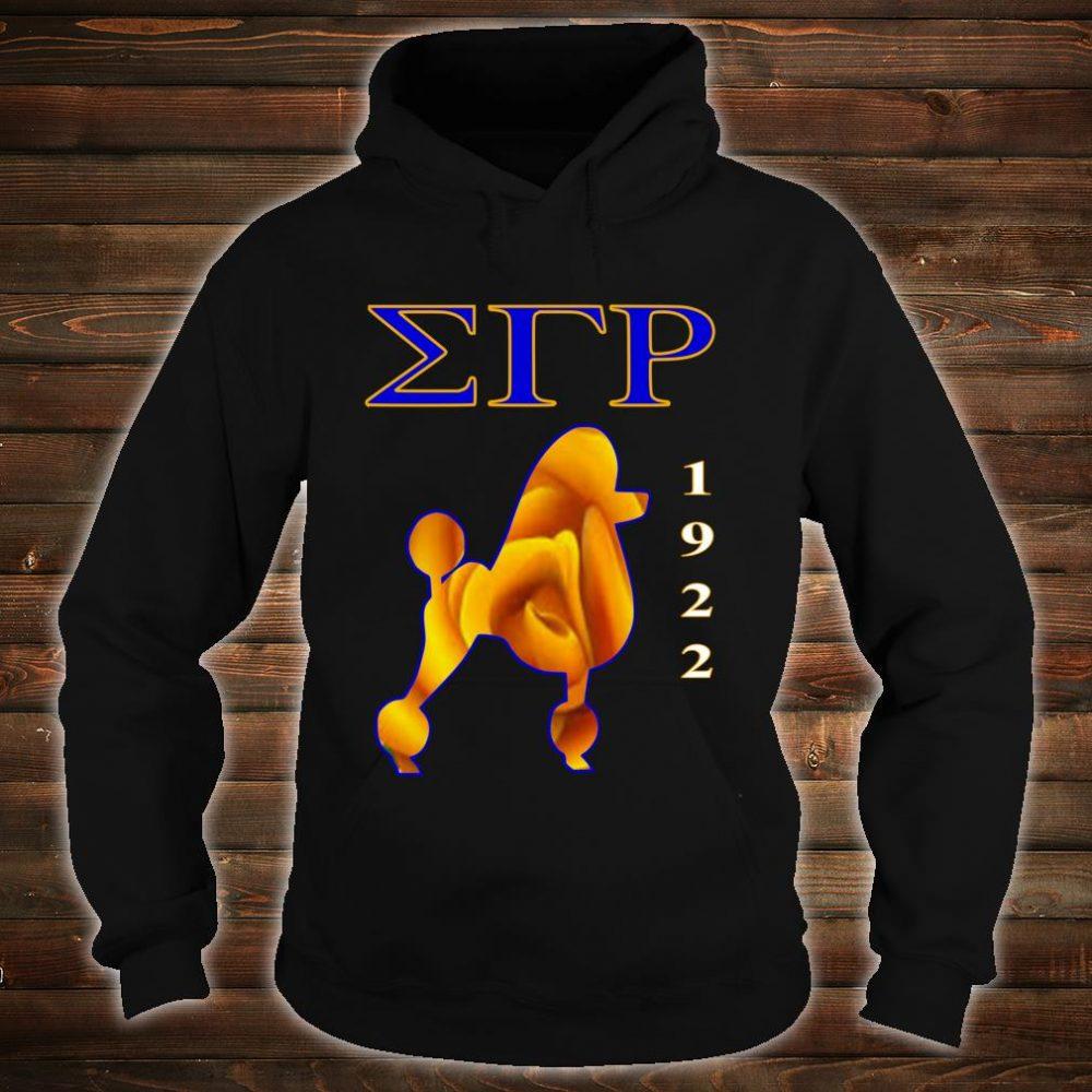 Sigma Gamma Rho Poodle Paraphernalia Shirt hoodie