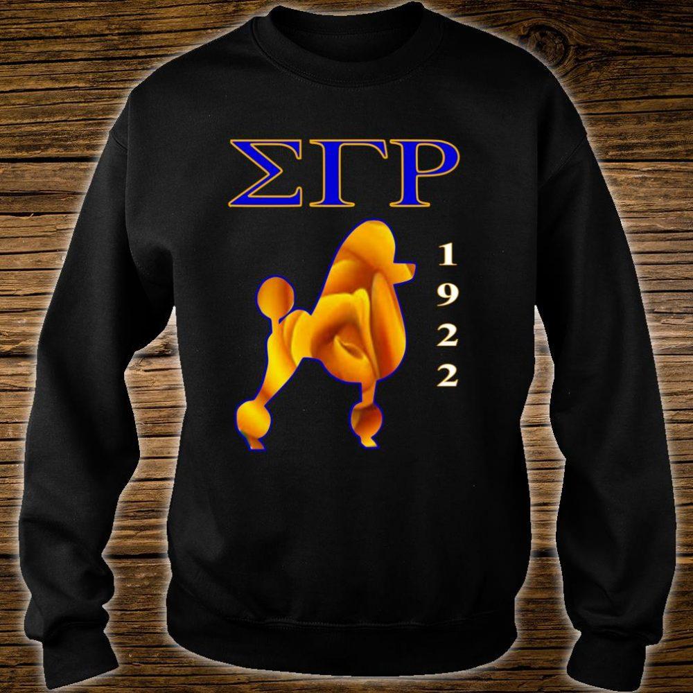 Sigma Gamma Rho Poodle Paraphernalia Shirt sweater