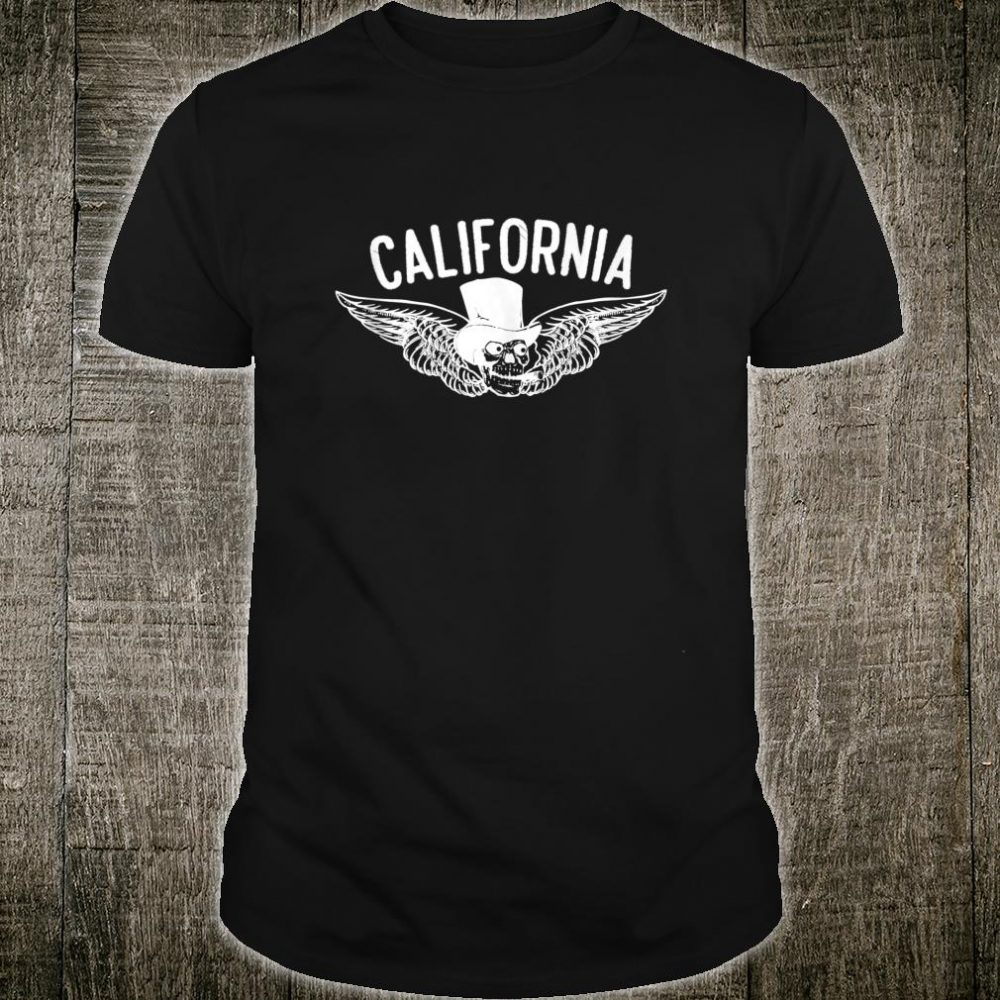 Smokes Skull California Wings Shirt