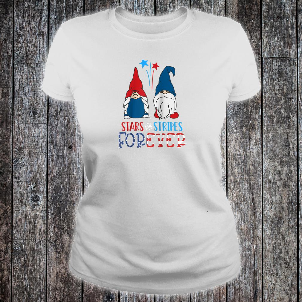 Stars And Stripes Forever Shirt American Patriot Flag Shirt ladies tee